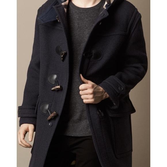 Burberry Other - Men's Burberry wool duffle coat